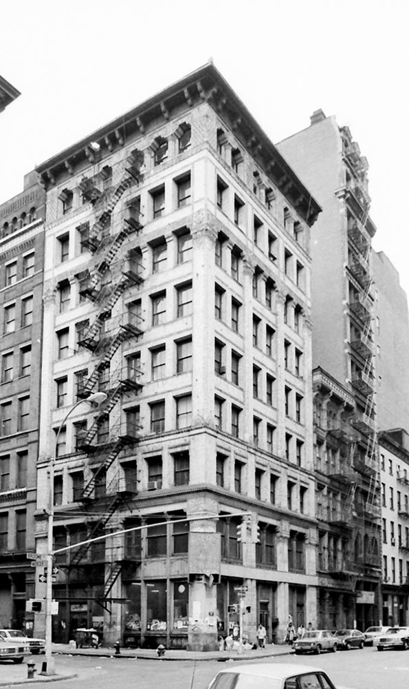 450 broome street joseph pell lombardi architect for 151 west broadway 4th floor new york ny 10013