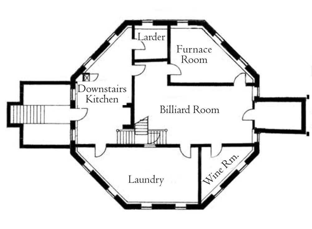 5 bedroom octagon house floor plans octagon home plans