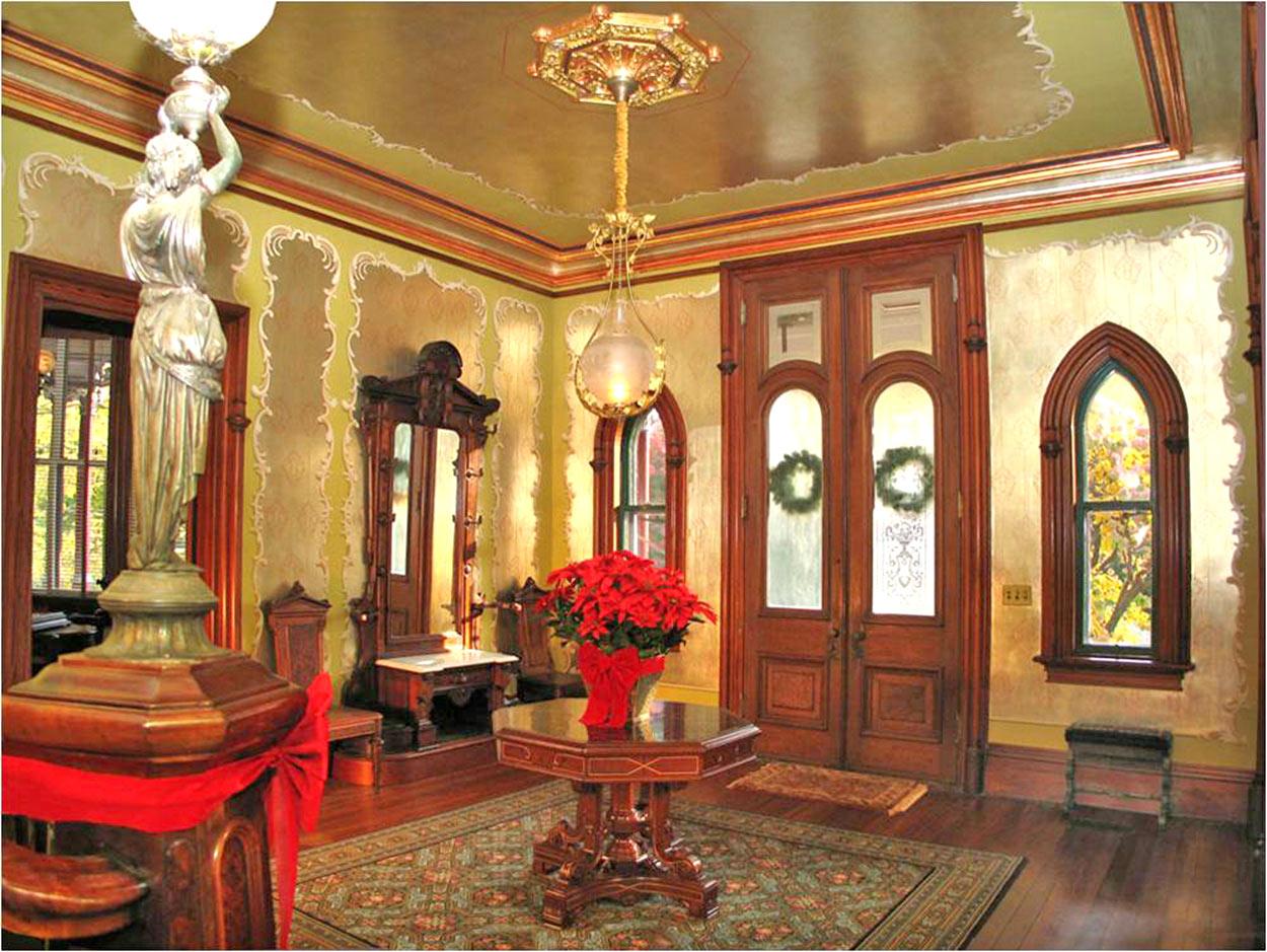 Octagon house joseph pell lombardi architect for New house hall