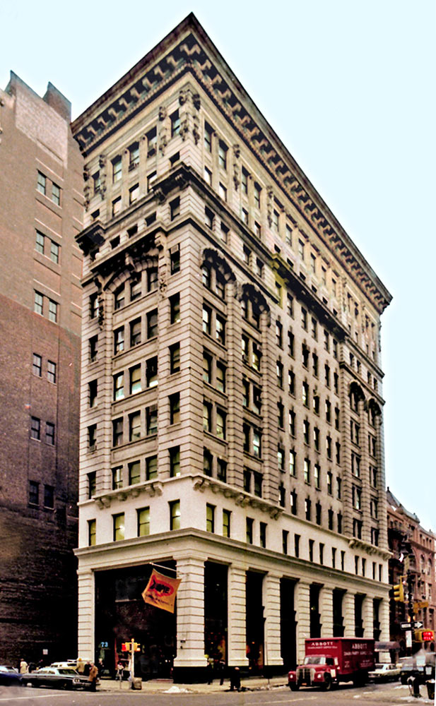 Kensington building joseph pell lombardi architect for 151 west broadway 4th floor new york ny 10013